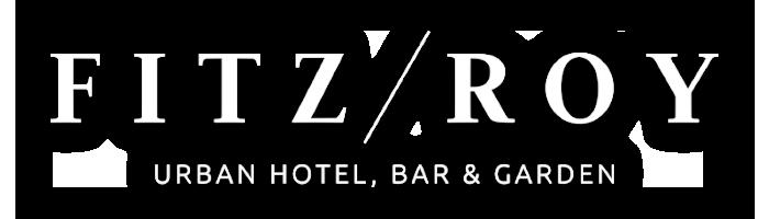 Logo Fitz Roy met schaduw
