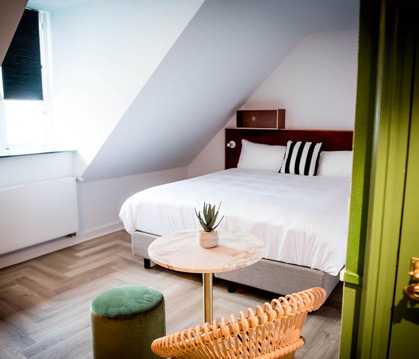 Standaard kamer van Fitz Roy Maastricht